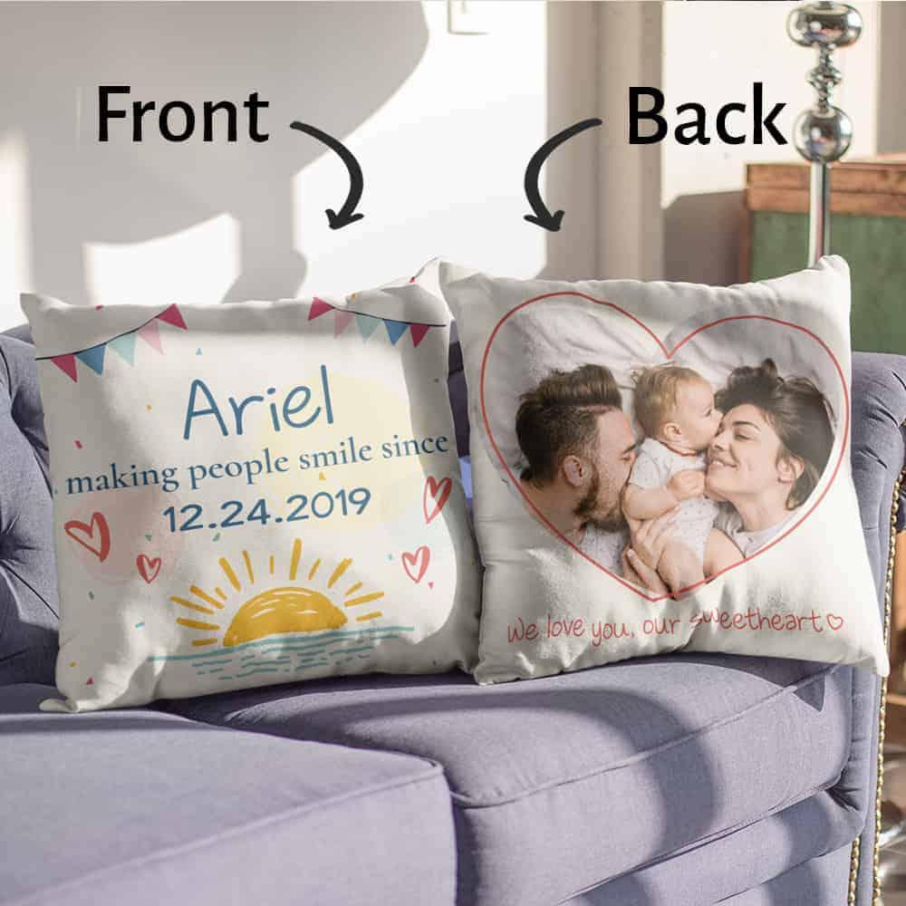 Christmas Baby Custom Pillow