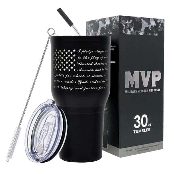 military-themed gift ideass: Military Double Wall Tumbler
