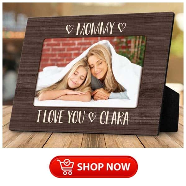 single mother gifts: Mommy I Love You Plaque