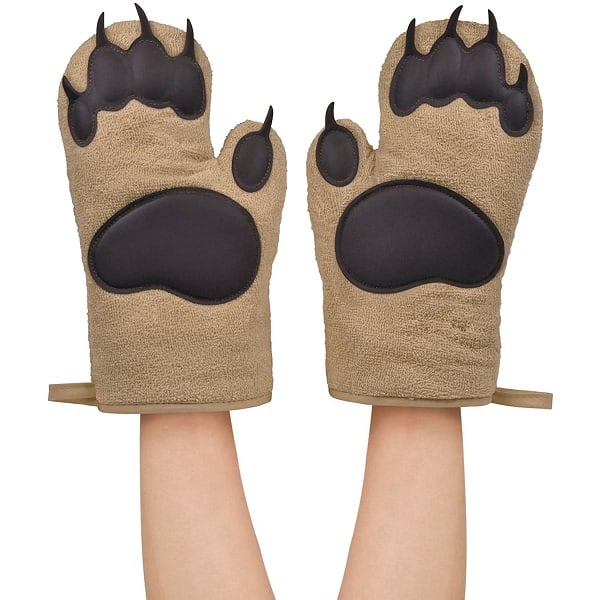 Oven Mitts Bear Hands