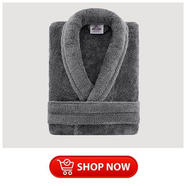 christmas gift for parents: plush fleece robe
