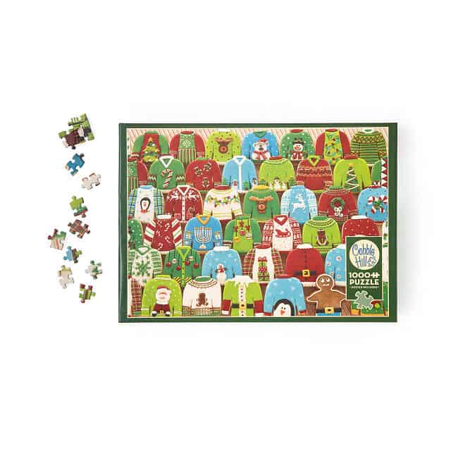 Ugly Holiday Sweater Puzzle