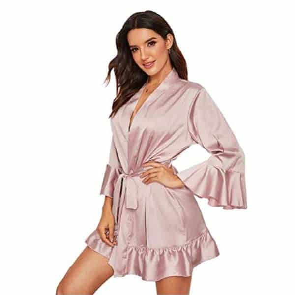 gifts for her: Silk Robe
