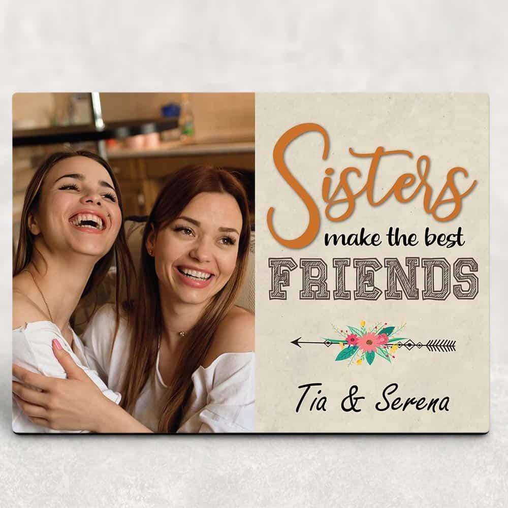 Sister Custom Desktop Plaques