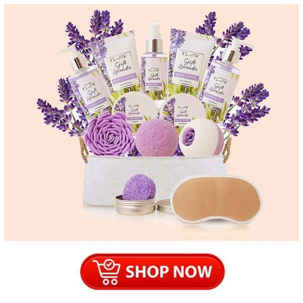 presents for single mother: Spa Gift Basket