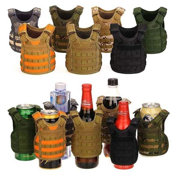 military-themed gift ideas: Tactical Beer Vest