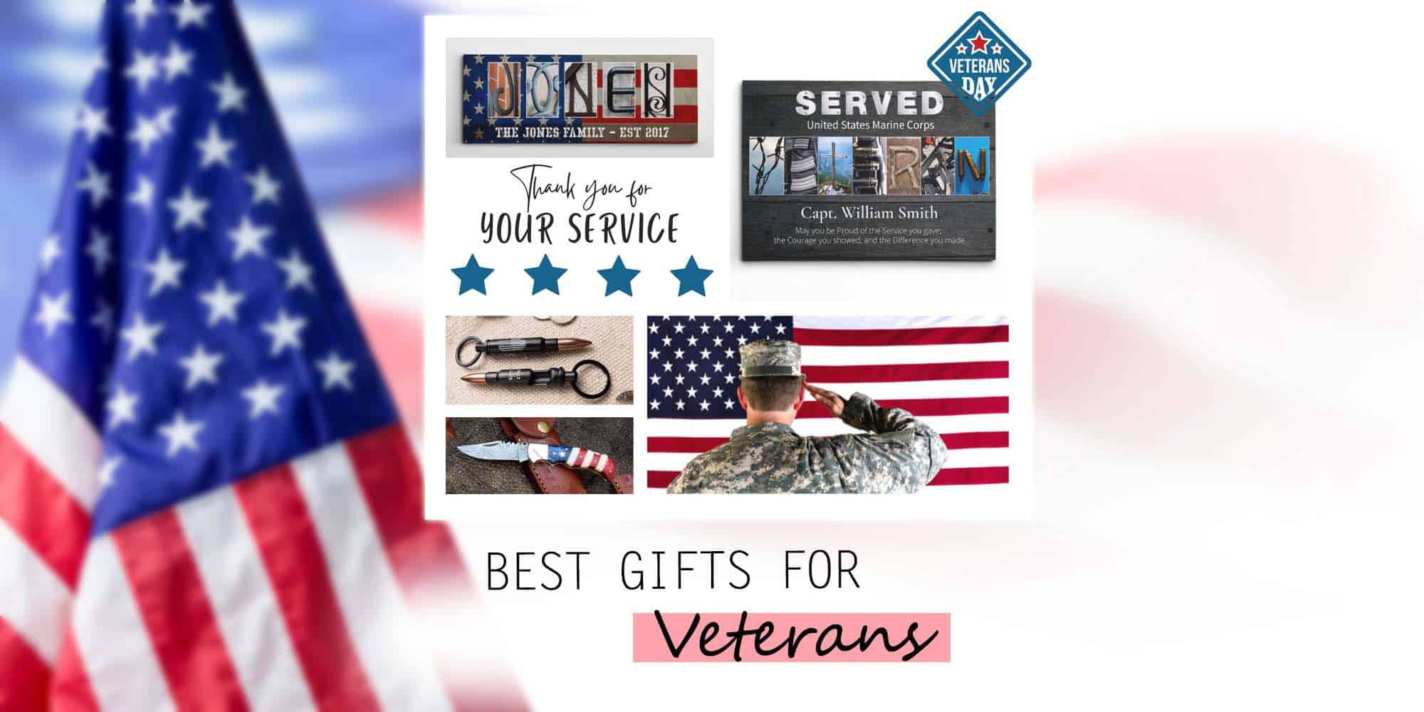 20 Best Veteran Gift Ideas to Honor Their Service (2021)