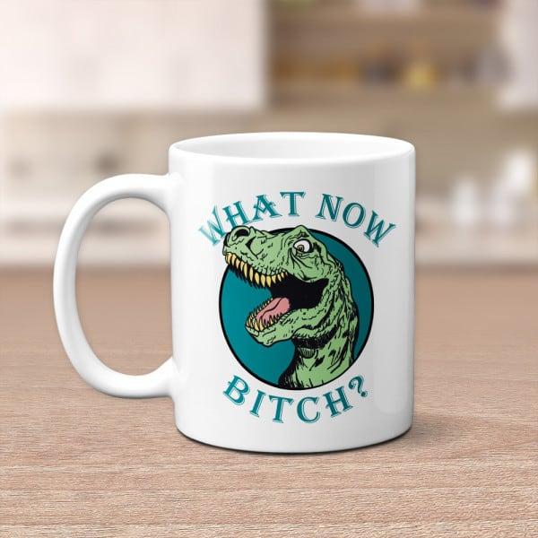dinosaur on mug