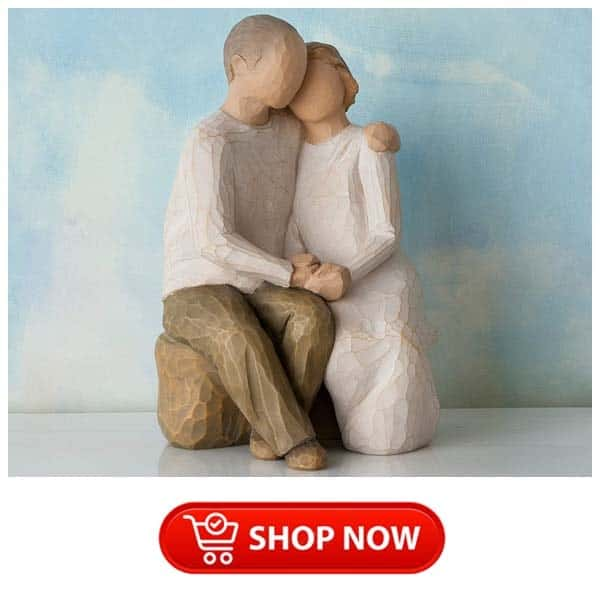 xmas gift ideas for parents who have everything: willow tree figure for parents