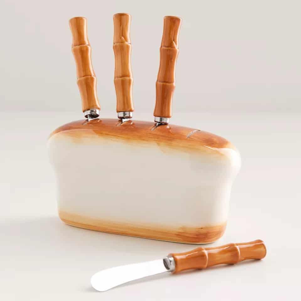 Bread Loaf Knife And Storage Set