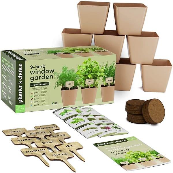 Indoor Herb Growing Kit
