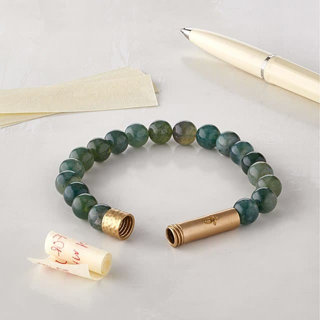 what to get the host of your baby shower - Wishbeads Intention Bracelet