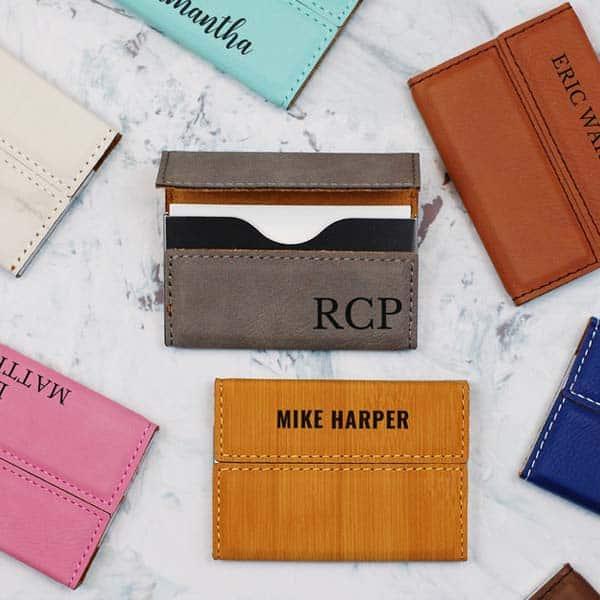 gift for new job: Card Holder